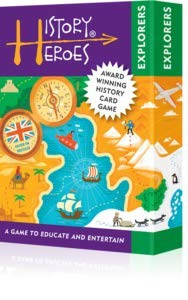 History Heroes: EXPLORERS, a family card game about 40 of the greatest explorers in history