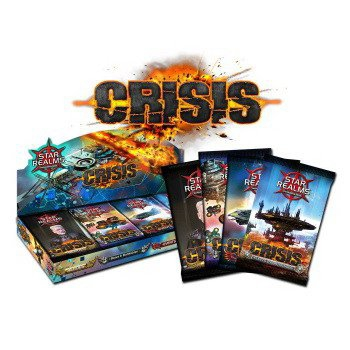 Star Realms: Crisis - complete set of all four mini expansions (Bases, Heroes, Events, Fleets)