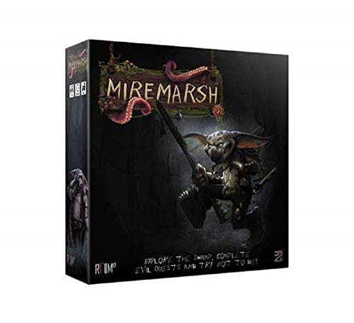 Miremarsh Adventure Strategy Board Game with Fantasy Miniature Models (Main Set) - Room 17 R17D2W003 - 1 to 5 Players Age 14+