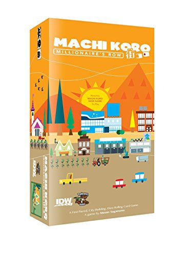 Machi Koro Millionaire Row Expansion Card