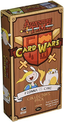 Adventure Time Card Wars Expansion Fionna vs Cake