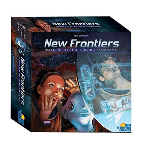 Rio Grande Games New Frontiers - English