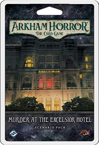 Fantasy Flight Games Murder at the Excelsior Hotel Scenario Pack: Arkham Horror the Card Game LCG