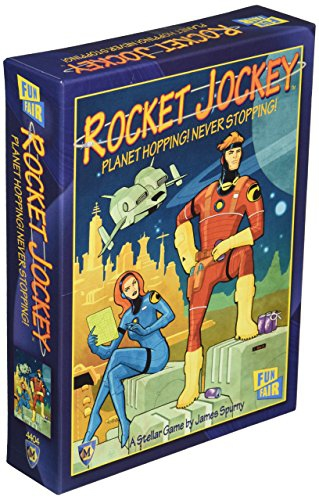Mayfair Games MFG04404 - Rocket Jockey Board Games