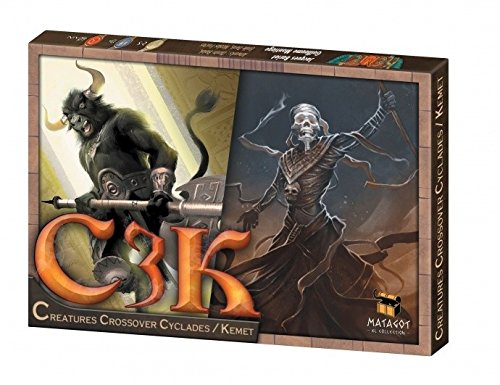 "Matagot SAS MATSKEM3 ""C3K Creature Crossover Cyclades Kemet Mini-Expansion"" Game"