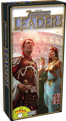 7 Wonders Leaders Expansion Board Game