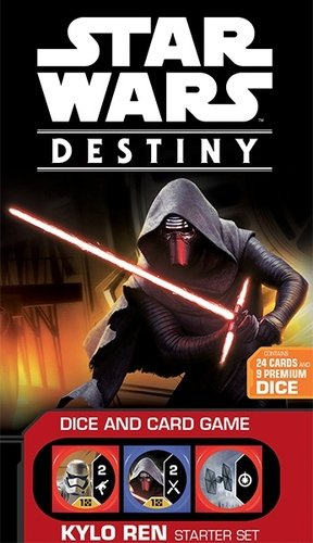 Fantasy Flight Games FFGSWD01 Star Wars Destiny Kylo Ren Starter Set