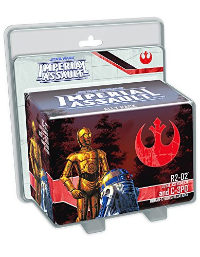 Imperial Assault: R2-D2 & C-3PO Ally Pack