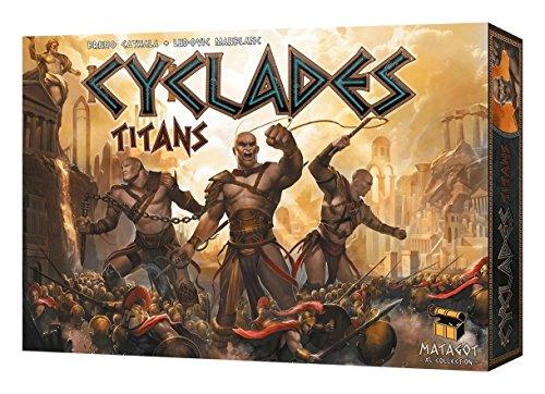 Matagot SAS MATSCYC3 Cyclades Titans Expansion Children Game