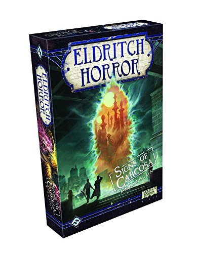 Fantasy Flight Games FFGEH06 Signs of Carcosa Eldritch Horror Expansion Board Game