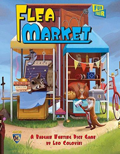 Mayfair Games Flea Market Board Game