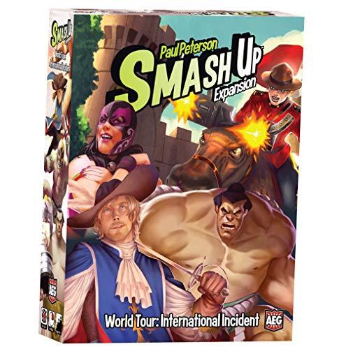 Alderac Entertainment Group AEG5516 Smash Up : World Tour International Incident Expansion, Mixed Colours