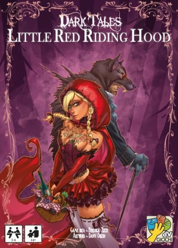 "dV Giochi ""Dark Tales Little Red Riding Hood"" Card Game"