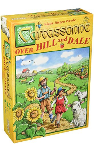 """Z-Man Games """"Carcassonne Over Hill and Dale"""" Board Game"""