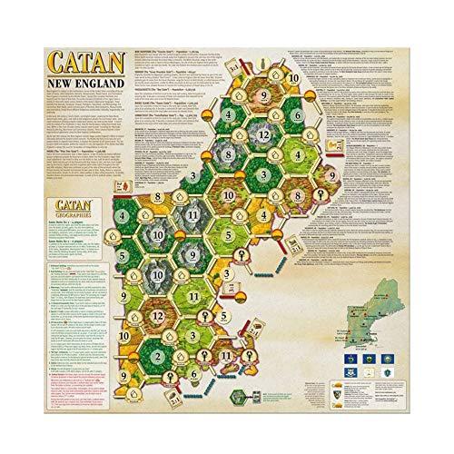 Catan Geographies set three maps England x1, The Carolinas x1 Georgia x1