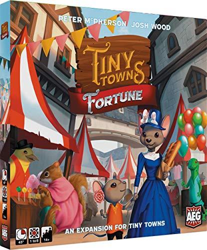 Alderac Entertainment ALD07072 Tiny Towns: Fortune Expansion