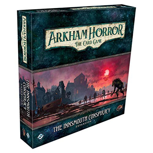Fantasy Flight Games FFGAHC52 Arkham Horror LCG: The Innsmouth Conspiracy Deluxe Expansion, Mixed Colours