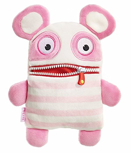 Worry Eater Soft Toy - Junior Betti, Pink/White