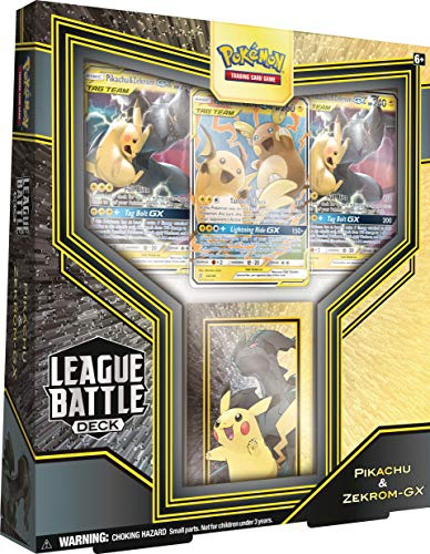 Pokemon Pikachu Zekrom GX League Battle Deck