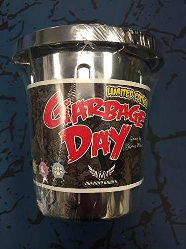 Garbage Day Silver Can Limited Edition Card Game - Includes Smelly Cards Expansion