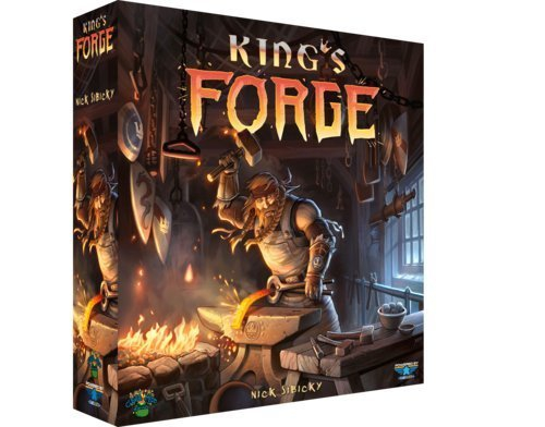 Game Salute King's Forge Board Game