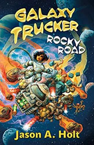 CGEB0001 Galaxy Trucker: Rocky Road (Novel), Multicoloured