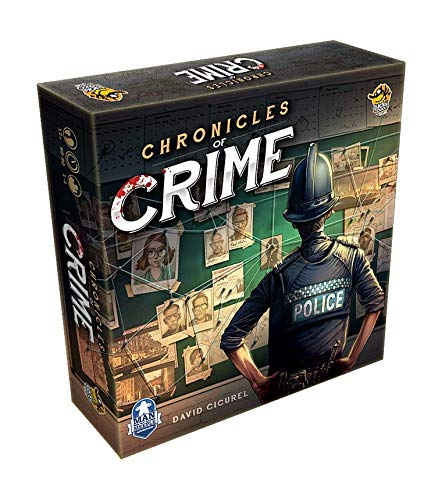 Lucky Duck Games LKY035 Chronicles of Crime, Mixed Colours