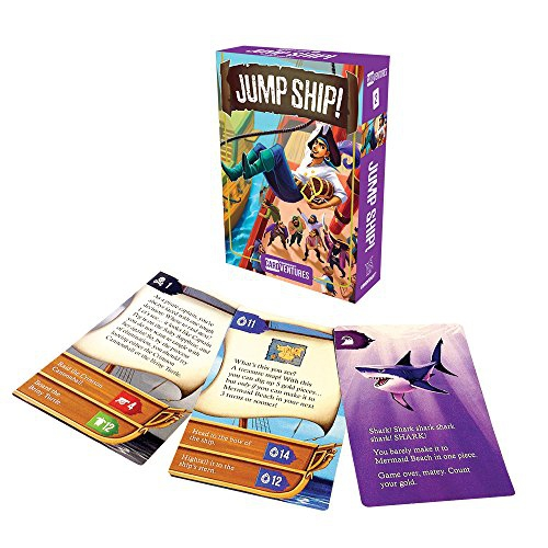 Gamewright Cardventures Jump Ship Card Game