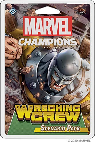 Fantasy Flight Games Marvel Champions: The Wrecking Crew Scenario Pack