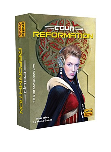Indie Board & Card Coup Reformation 2nd Edition Expansion Card Game