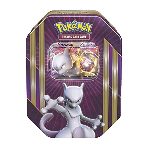 "Pokemon ""TCG Spring Tin 2016 Mewtwo"" Card Game (Multi-Colour)"