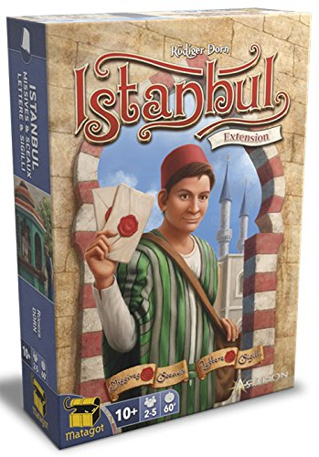 Asterion 8582–Istanbul Letters Game & Seals, Italian Edition