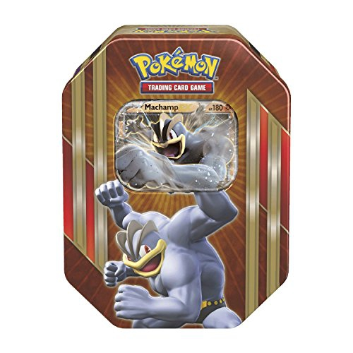 "Pokemon ""TCG Spring Tin 2016 Machamp"" Card Game (Multi-Colour)"