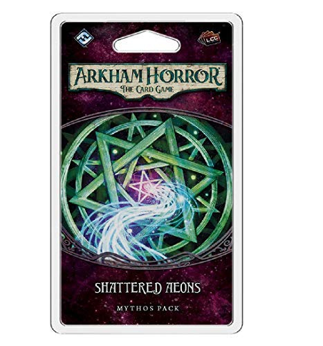 Arkham Horror: the Card Game Shattered Aeons Mythos Pack Expansion