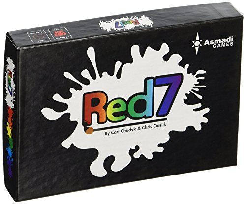 Asmadi Games Red 7 Card Game