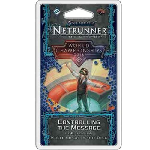 Android Netrunner The Card Game 2016 World Champion Corp Deck