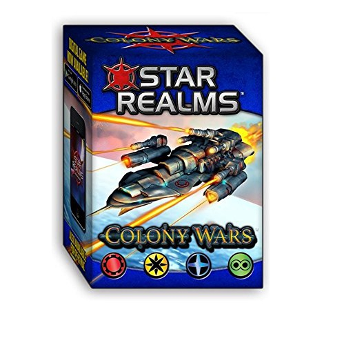 White Wizard Games Colony Wars Star Realms Deck Building Game
