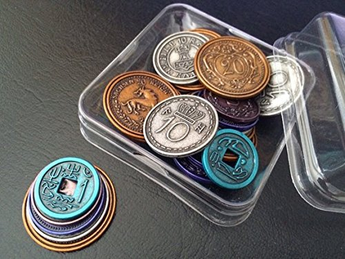 Scythe Metal Coins Accessories