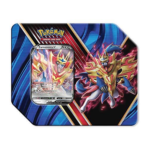 Pokémon TCG: Legends of Galar Summer Tin Featuring Zamazenta