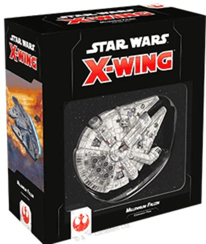 Fantasy Flight Games Star Wars X-Wing: Millennium Falcon Expansion Pack - English