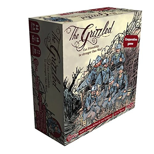 """Cool Mini Or Not """"The Grizzled"""" Board Game"""