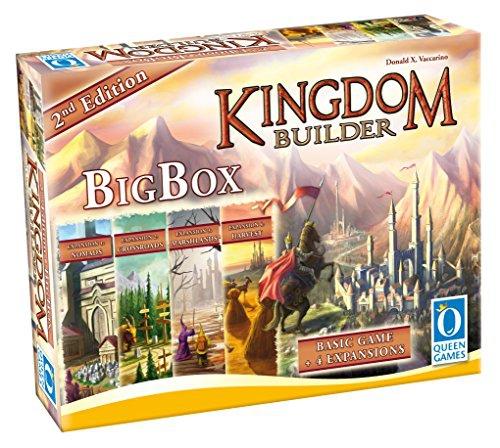 Kingdom Builder: Big Box 2nd Edition - English Deutsch