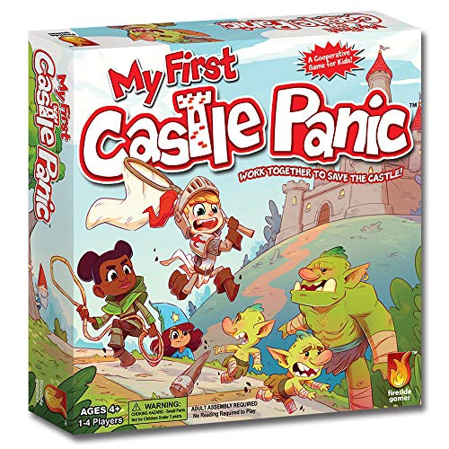 Fireside Games FSD1013 My First Castle Panic, Multicoloured