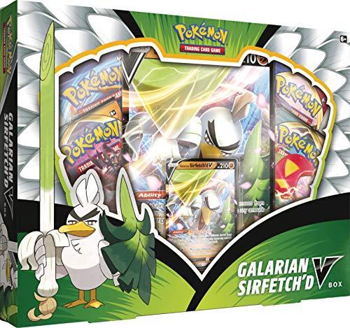 Pokémon POK80737 TCG: Galarian Sirfetch'd V Box, Multicolor