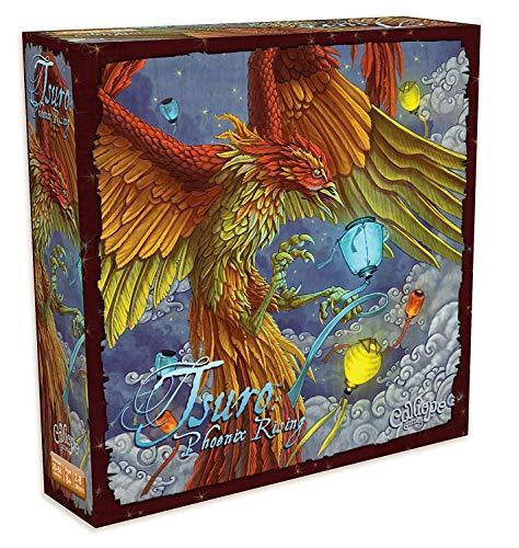Calliope Games CLP120 Tsuro: Phoenix Rising, Mixed Colours