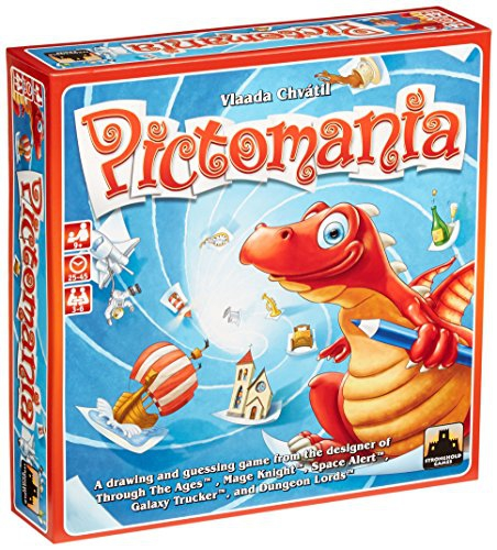 Pictomania Game Board Game