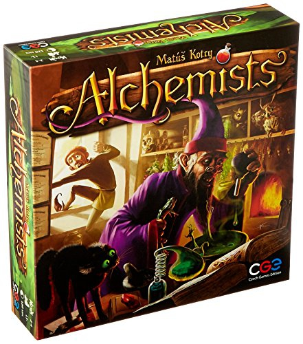 Czech Games Edition CGE00027 Alchemists Board Game