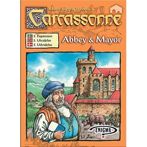 Carcassonne 5: Abbey and Mayor (Scandinavian instructions)