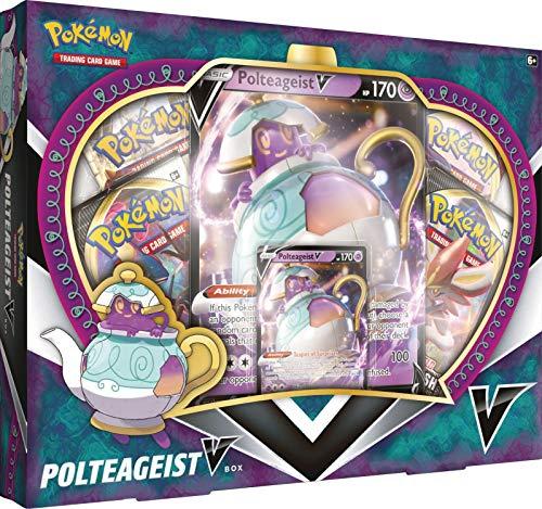 Pokémon POK80708 TCG: Polteageist V Box, Multicolor