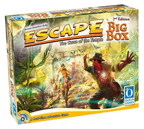 Escape: The Curse of the Temple - Big Box 2nd Edition - English Deutsch